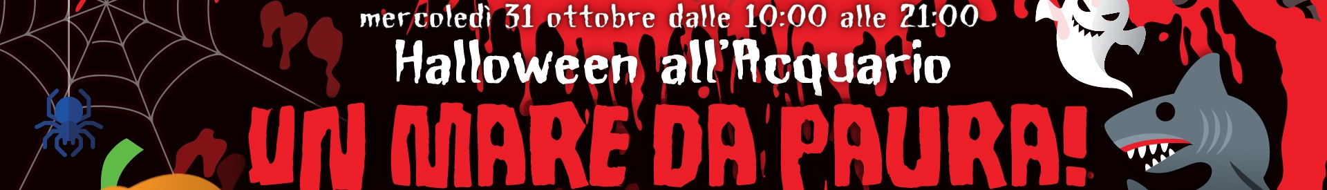 Halloween 2018 all'Acquario di Cala Gonone